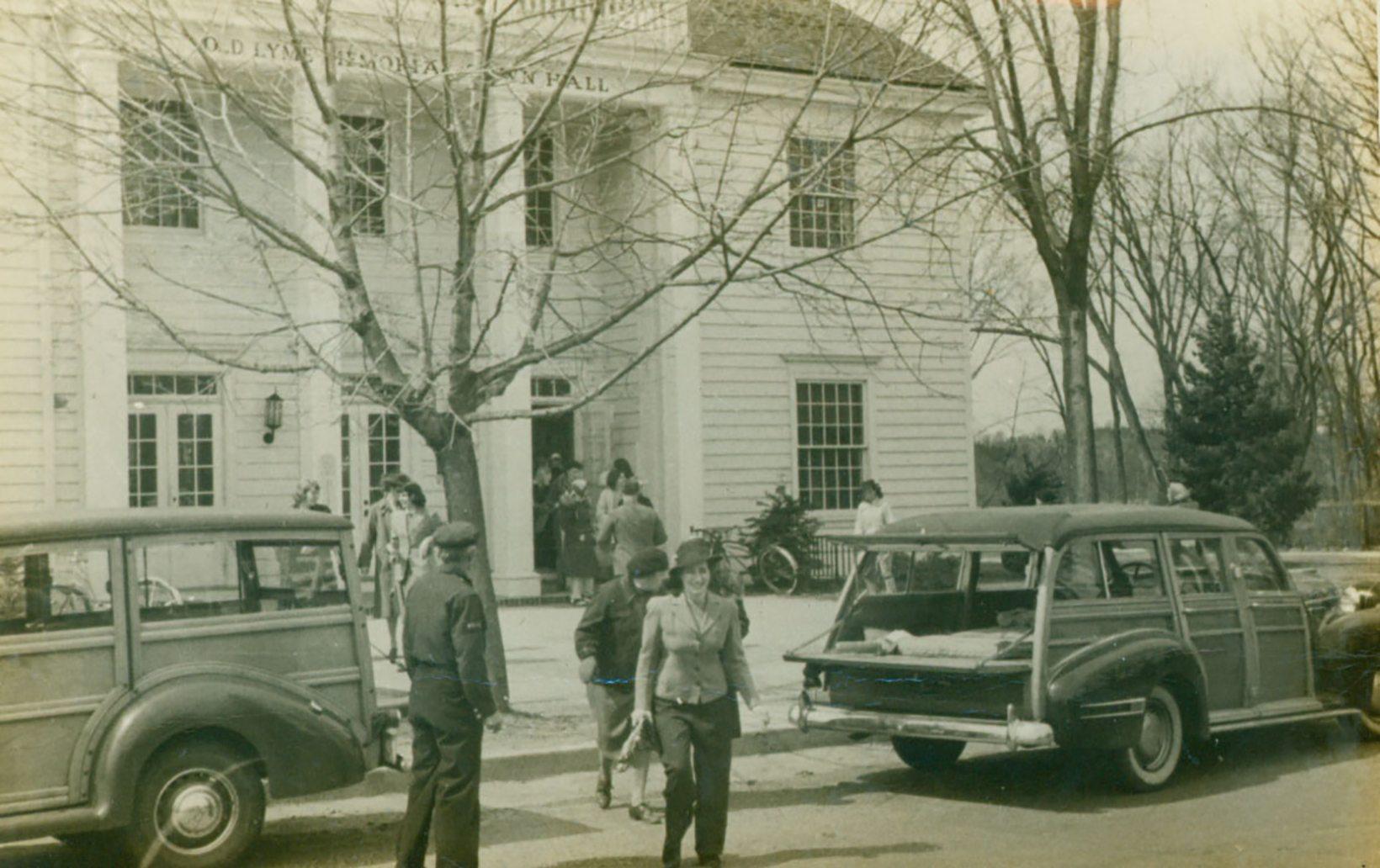 Photographs: Civil Defense Training, Old Lyme, 1942