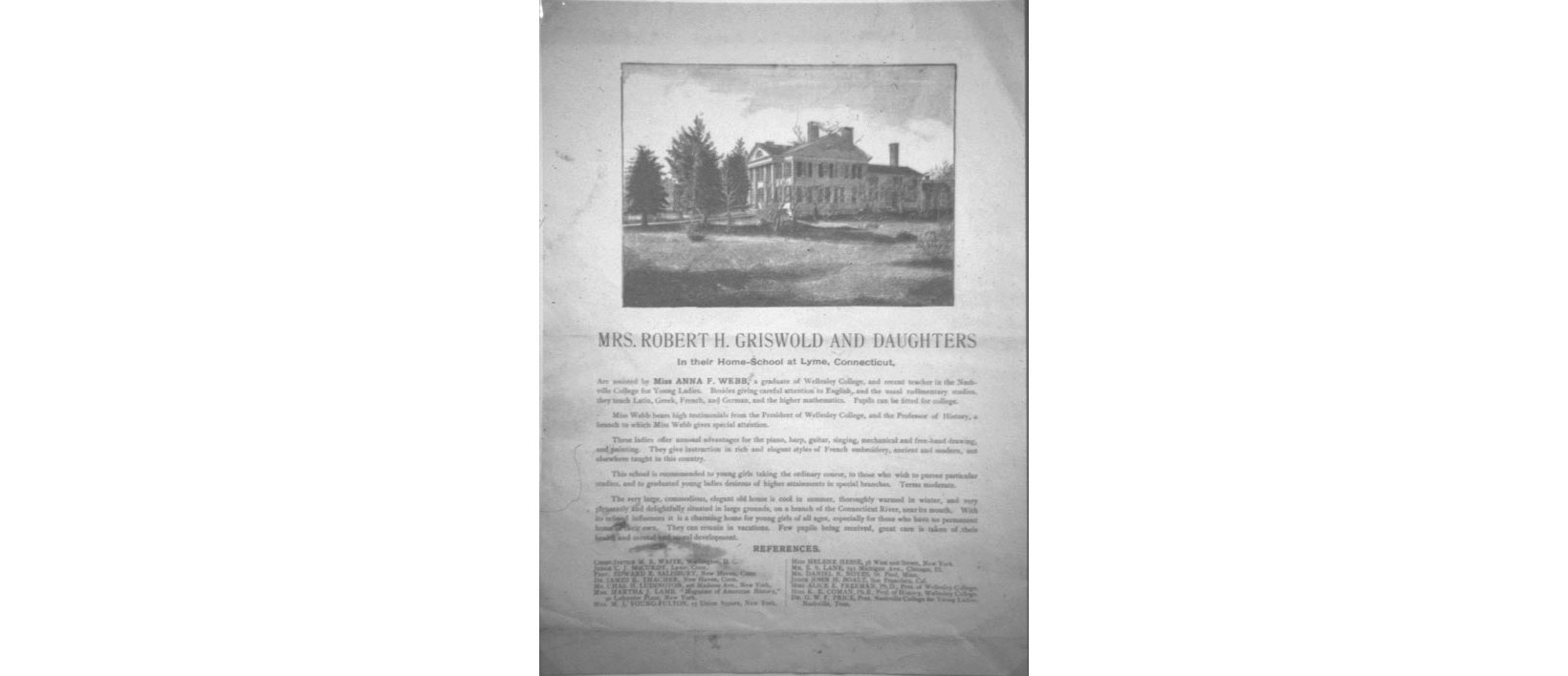 Documents: Griswold Home School, Part I–Beginnings