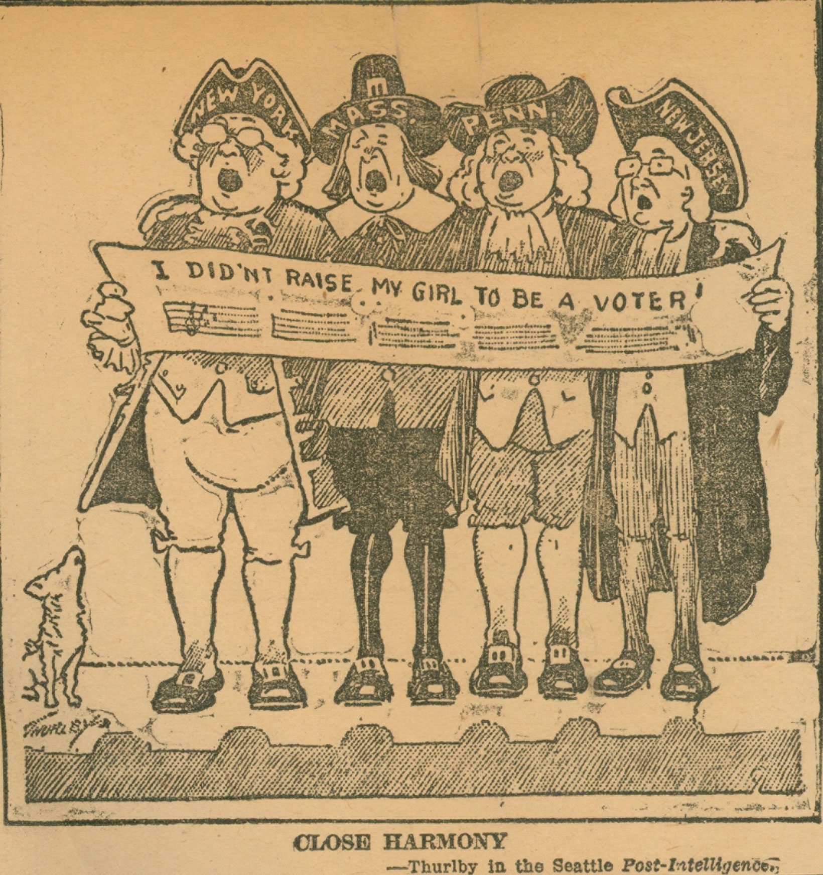 Old Lyme Women Oppose Suffrage
