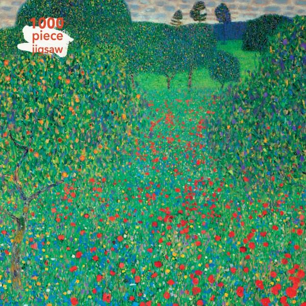 Gustav Klimt: Poppy Field1000 Piece Jigsaw Puzzle